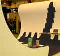 Ecobuild Eye catching custom built exhibition stand creating a lasting and memorable impression.